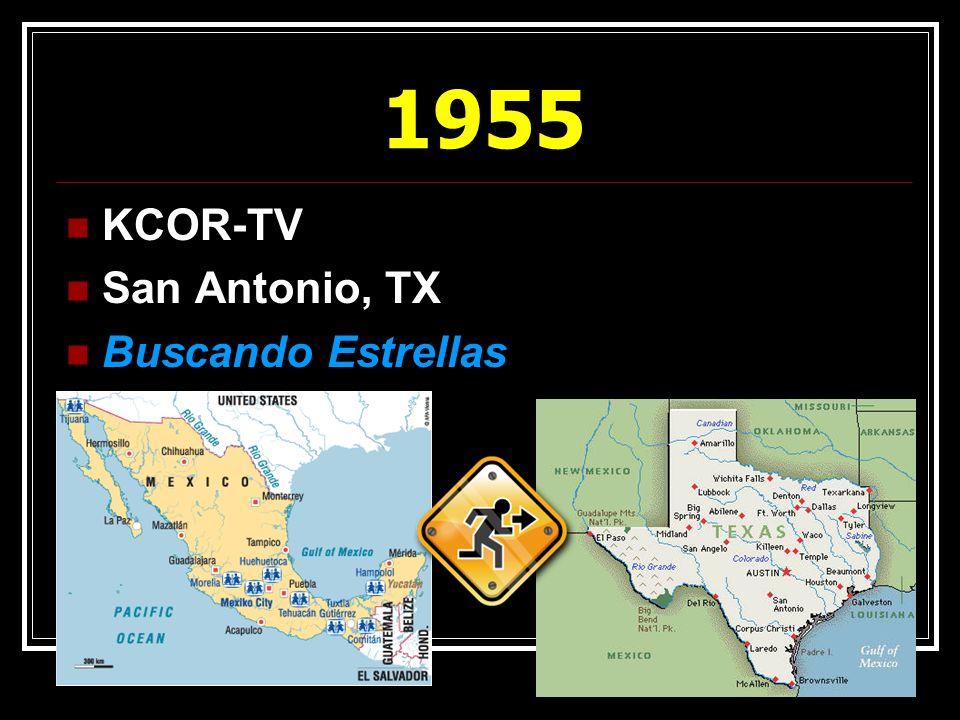 1955 KCOR-TV San Antonio, TX Buscando Estrellas