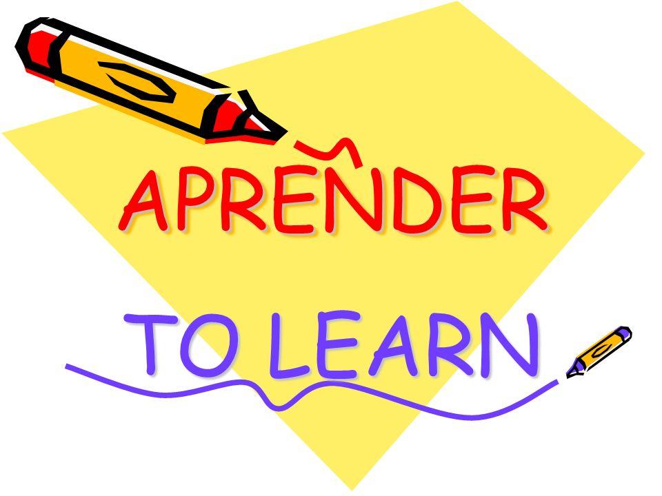 APRENDERAPRENDER TO LEARN
