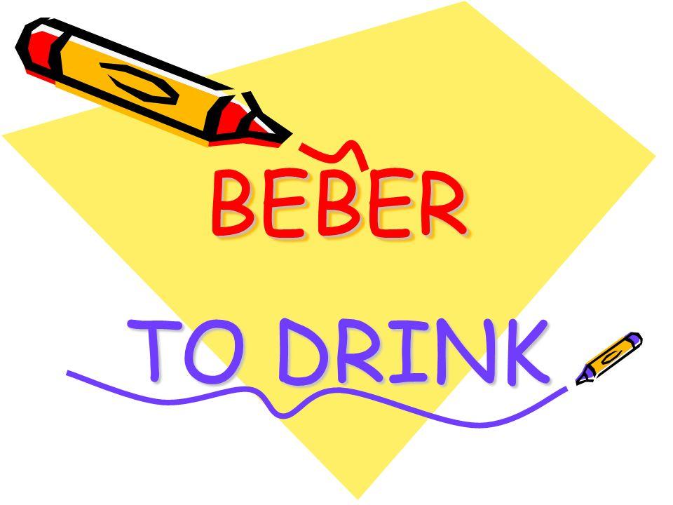 BEBERBEBER TO DRINK