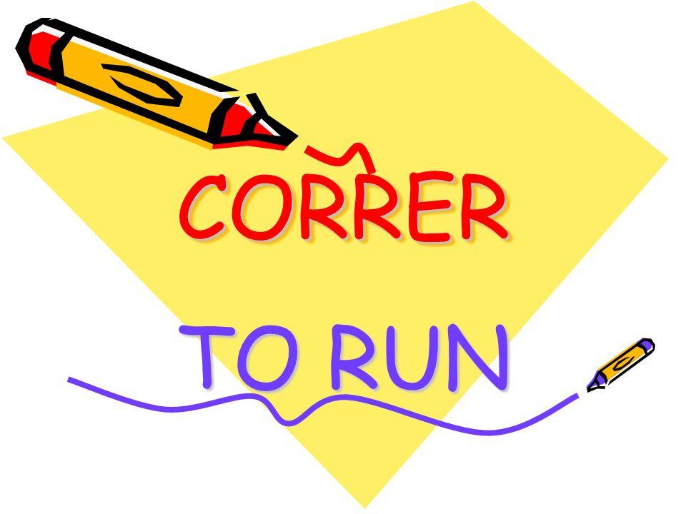 CORRERCORRER TO RUN