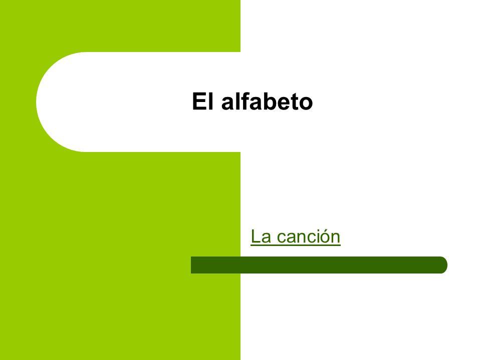 El alfabeto La canción