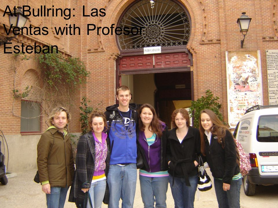 At Bullring: Las Ventas with Profesor Esteban