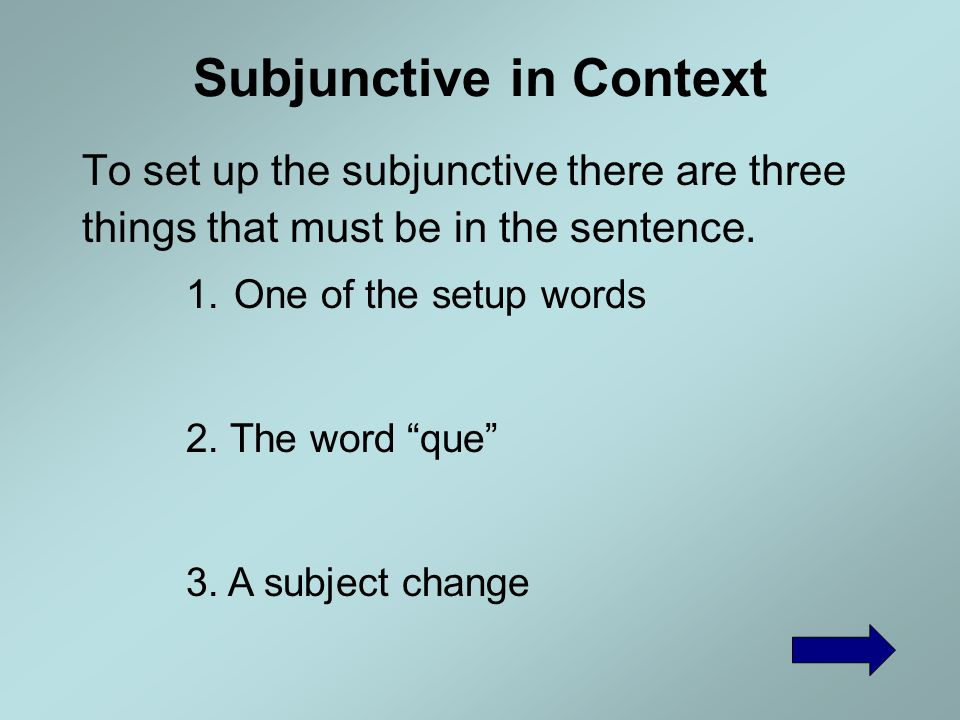 Helpful Links Colby This site is AWESOME! It even has sound. It has the present subjunctive and so many more topics for practice. Spaleon.com This sit