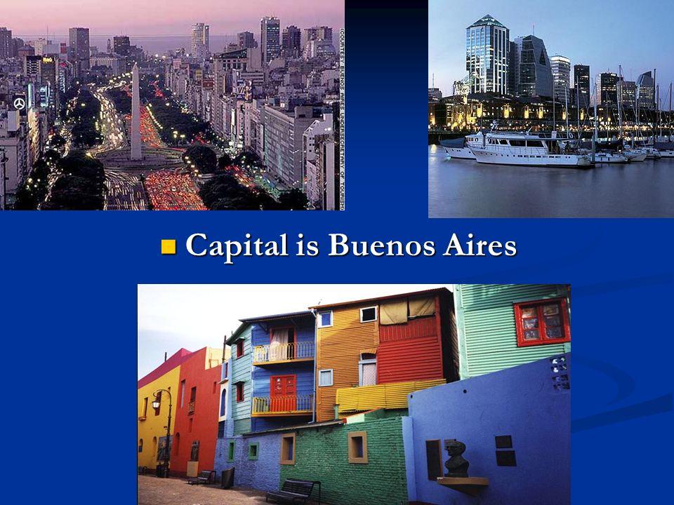 Capital is Buenos Aires Capital is Buenos Aires