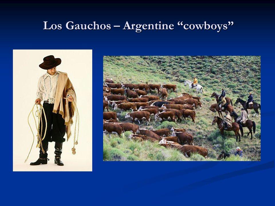 Los Gauchos – Argentine cowboys