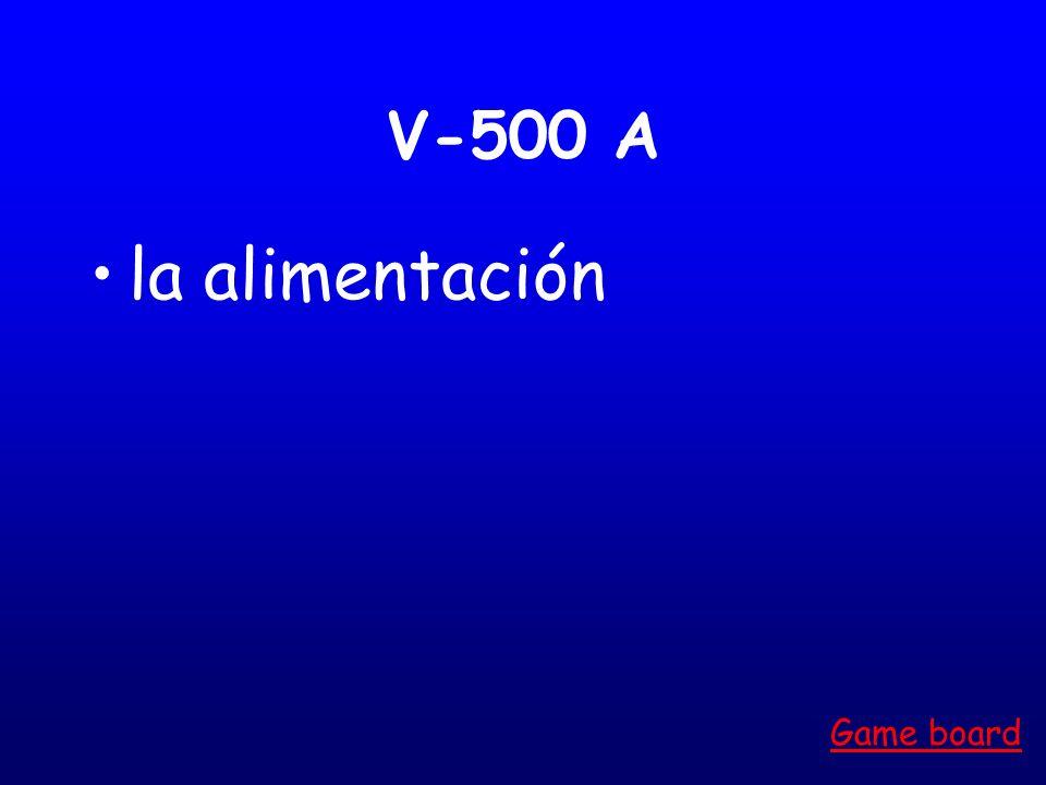 V-400 A el secador de pelo Game board