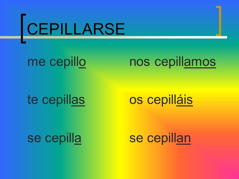 Reflexive Verbs Lets do more verbs!