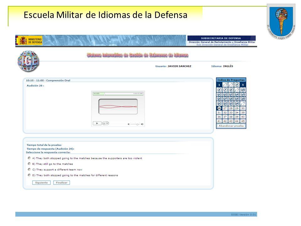 Escuela Militar de Idiomas de la Defensa