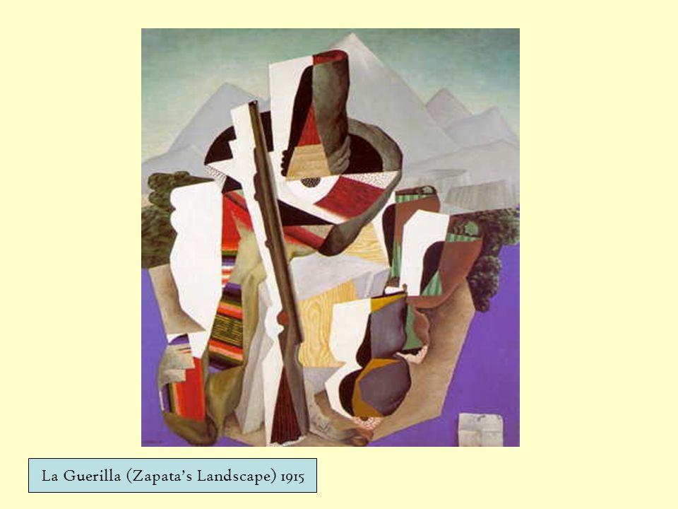 La Guerilla (Zapatas Landscape) 1915