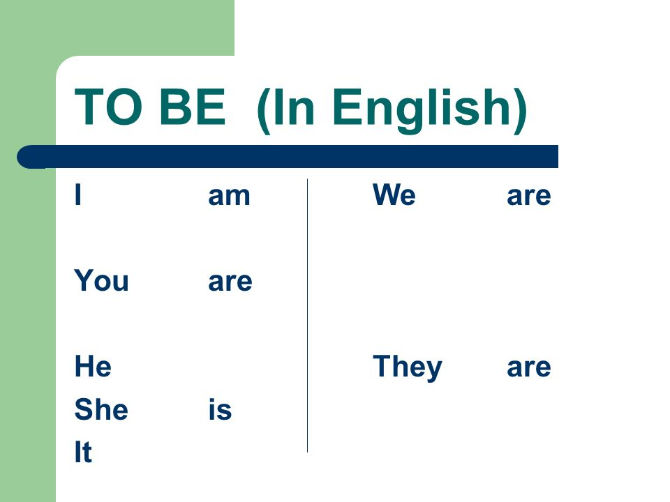The Verb ESTAR In writing, be sure to use the accent mark on all forms except the yo and nosotros forms. Without the accent, the meaning changes!