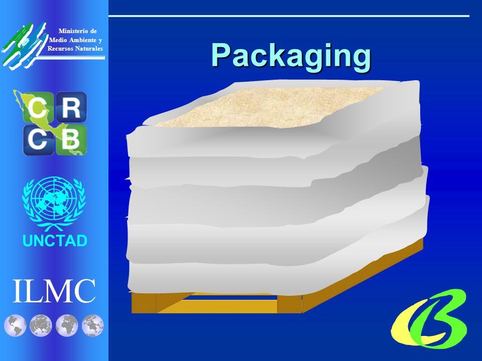 ILMC UNCTAD Ministerio de Medio Ambiente y Recursos Naturales Packaging Auto Mate