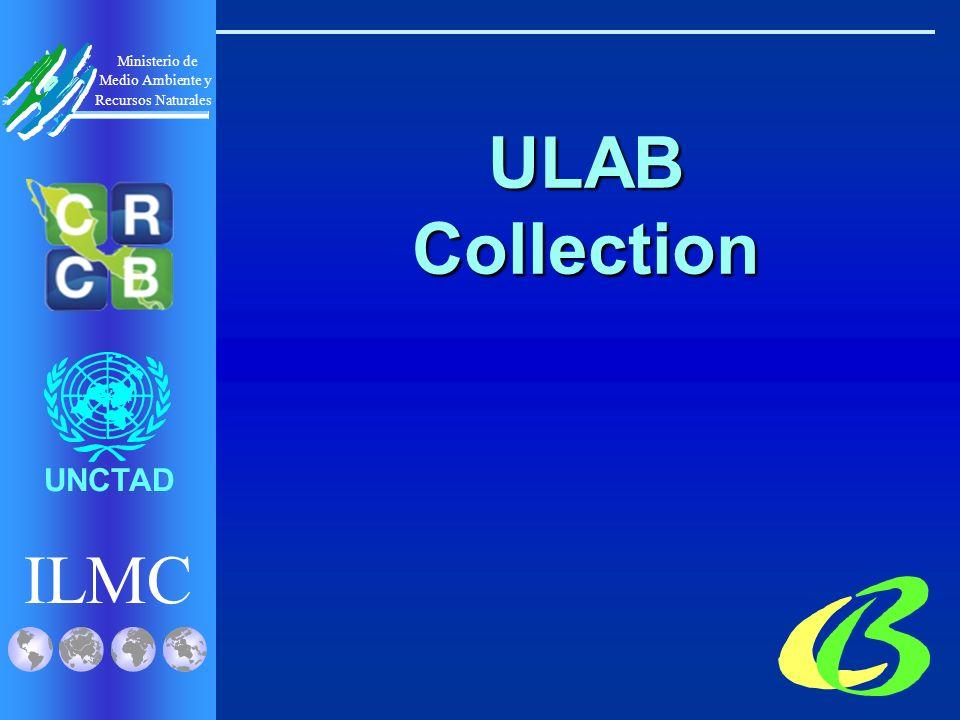ILMC UNCTAD Ministerio de Medio Ambiente y Recursos Naturales ULAB Collection