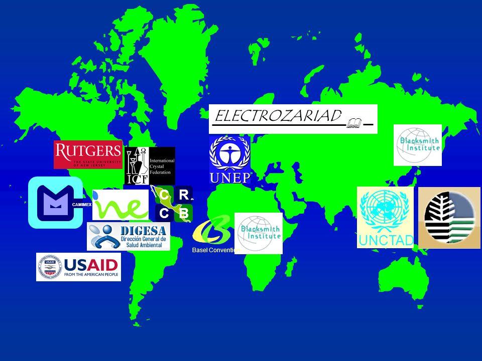 UNCTAD ELECTROZARIAD & CAMIMEX R C C B B C Basel Convention