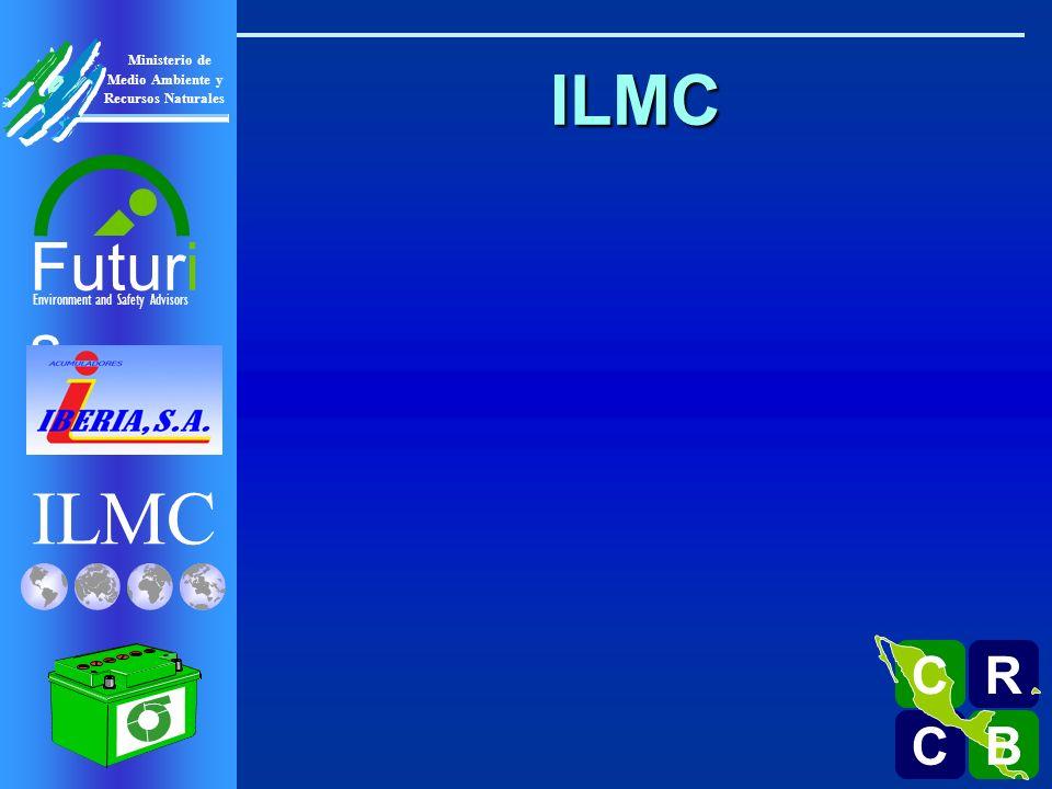 ILMC Environment and Safety Advisors Futuri s R C C B B C Ministerio de Medio Ambiente y Recursos Naturales OECD Ministerial Declaration Lead Risk Reduction 1996 ILMC