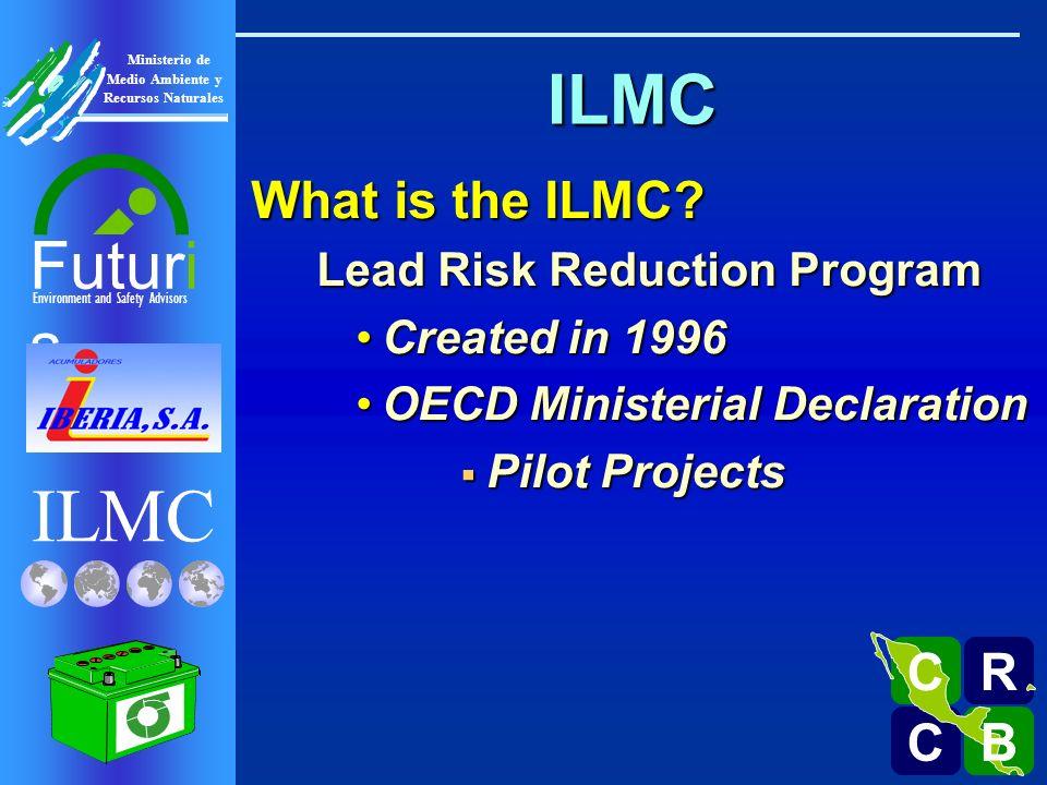 ILMC Environment and Safety Advisors Futuri s R C C B B C Ministerio de Medio Ambiente y Recursos Naturales Sigma Life Cycle for Lead