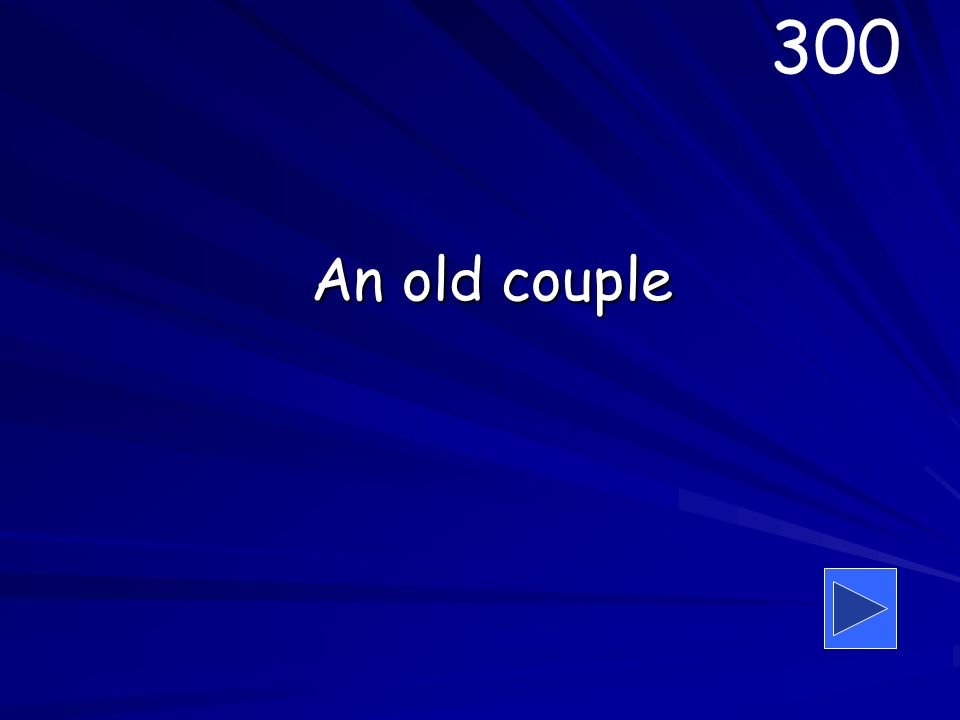 An old couple 300
