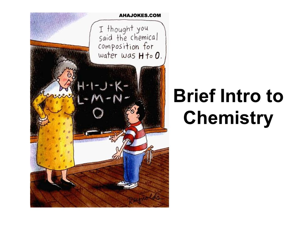 Brief Intro to Chemistry