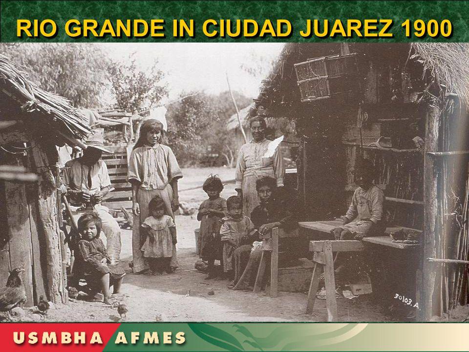 RIO GRANDE IN CIUDAD JUAREZ 1900