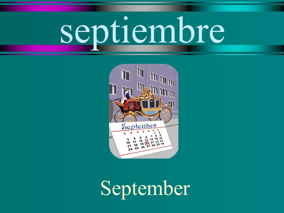 septiembre September