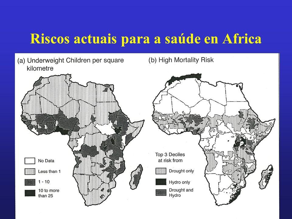 Riscos actuais para a saúde en Africa