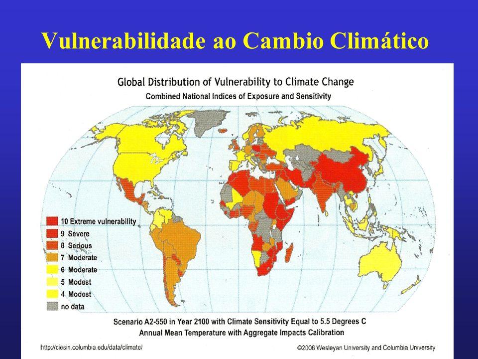 Vulnerabilidade ao Cambio Climático