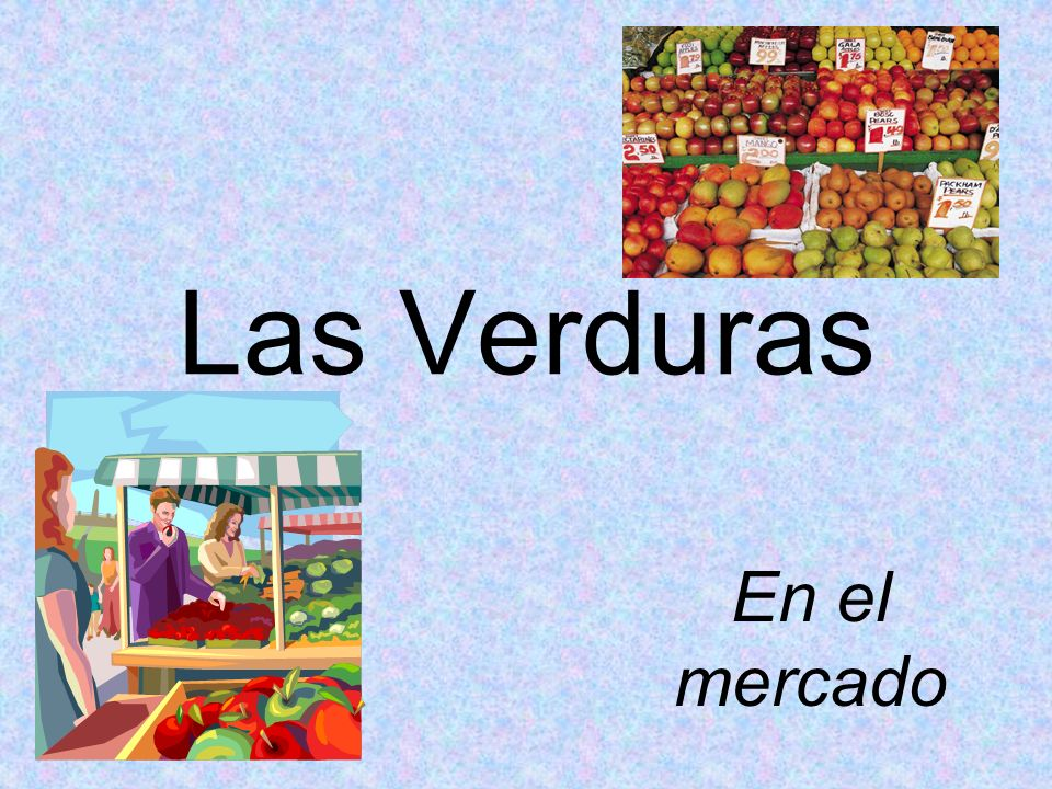 Student Learning Outcome(s): At the end of this lesson, I can: YO PUEDO… Select the appropriate vocabulary to identify vegetables in a Mexican Market Place.