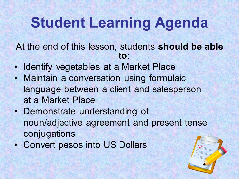 HAZLO AHORA DO IT NOW Knowledge you should bring to class: Students should come to class with the ability to do long division without a calculator.
