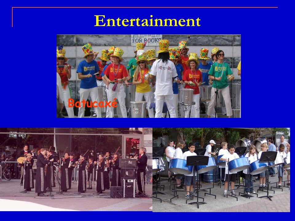 Entertainment Batucaxé