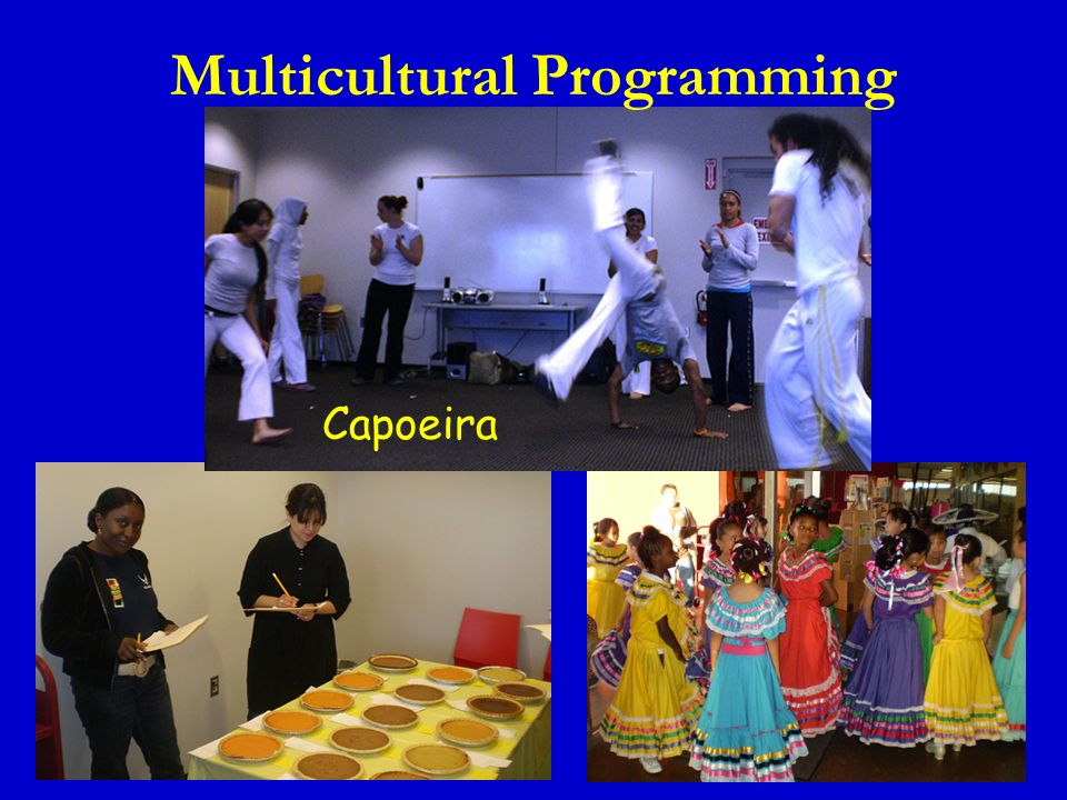 Capoeira Multicultural Programming