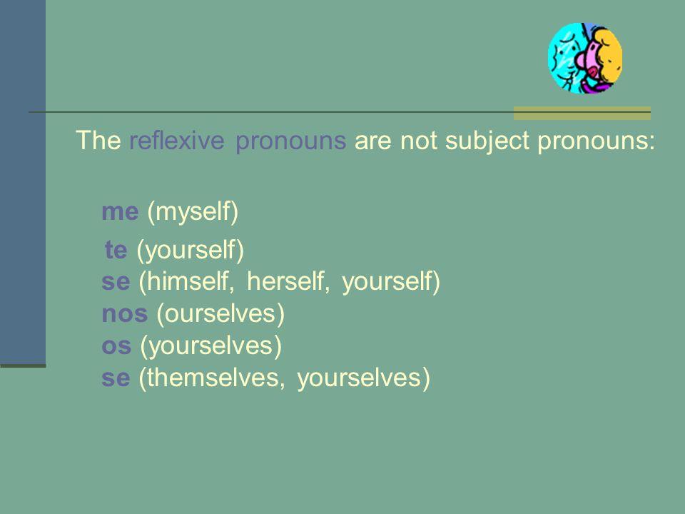 How do you conjugate these verbs? levantarse 1.Remove the se. 2.Conjugate the verb as always in the present or past tense. levantolevantamos levantasl