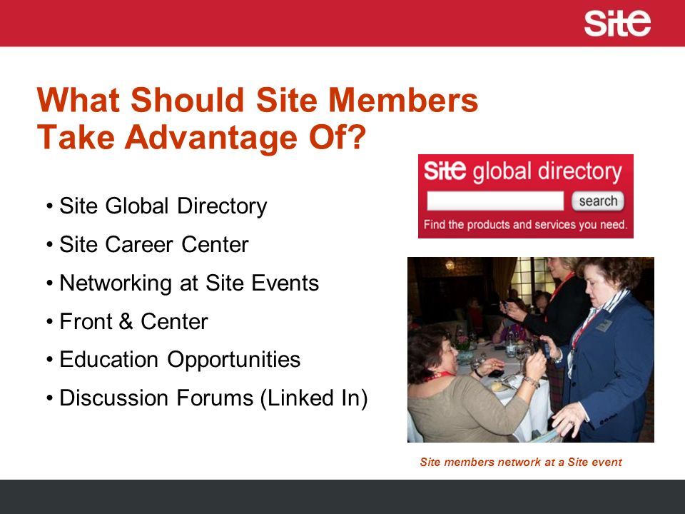 Siteglobal.com Member Center