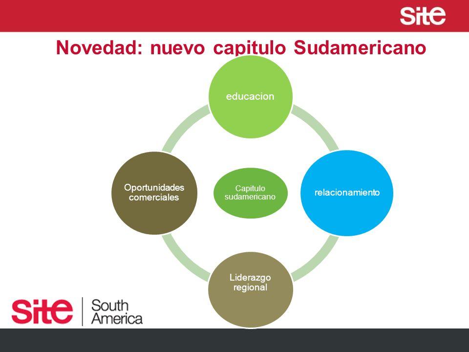 Novedad: nuevo capitulo Sudamericano Capitulo sudamericano educacion relacionamiento Liderazgo regional Oportunidades comerciales