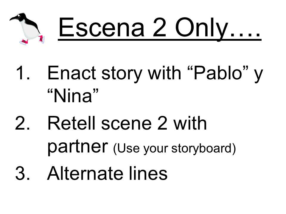 Escena 2 Only….