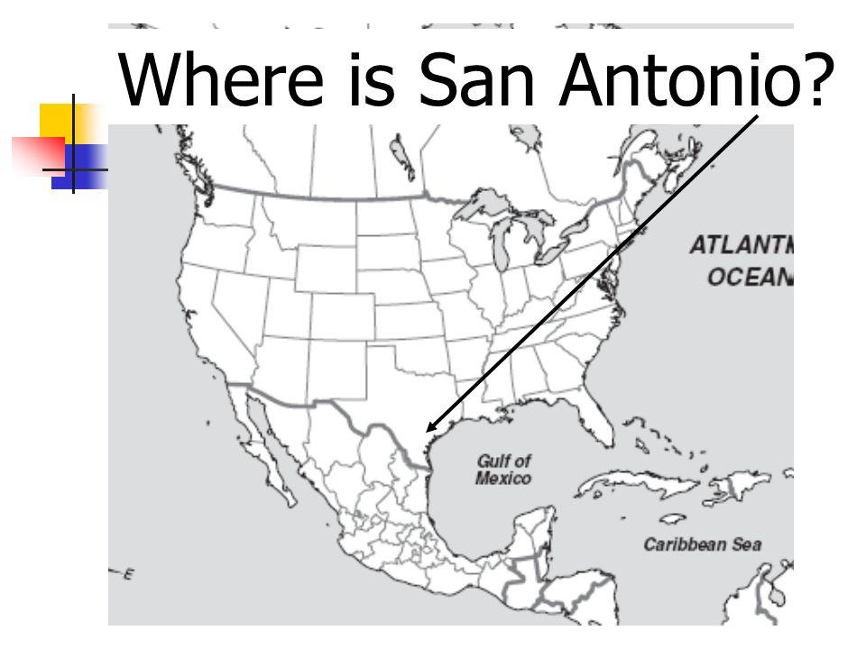 Where is San Antonio?