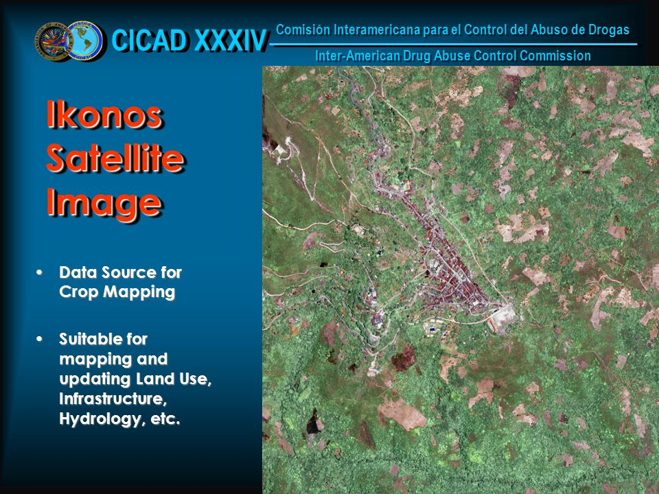 8 Ikonos Satellite Image Data Source for Crop Mapping Data Source for Crop Mapping Suitable for mapping and updating Land Use, Infrastructure, Hydrology, etc.