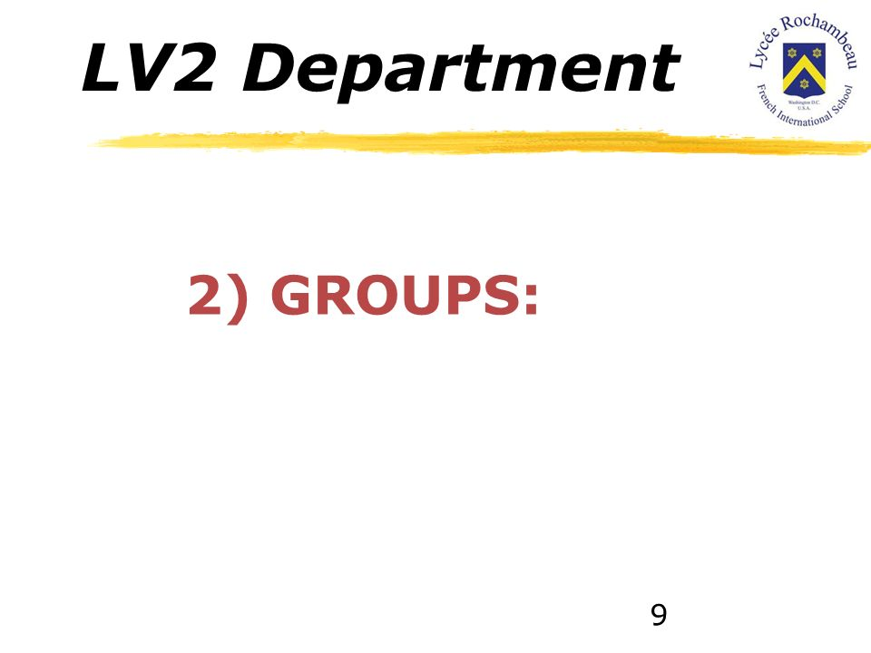 LV2 Department 1.2. 1È et TERMINALE / 11th and 12th GRADE: This level is structured around the cultural themeEndowment and worlds in movement includin