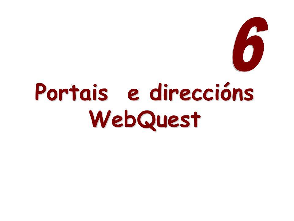 Portais e direccións WebQuest
