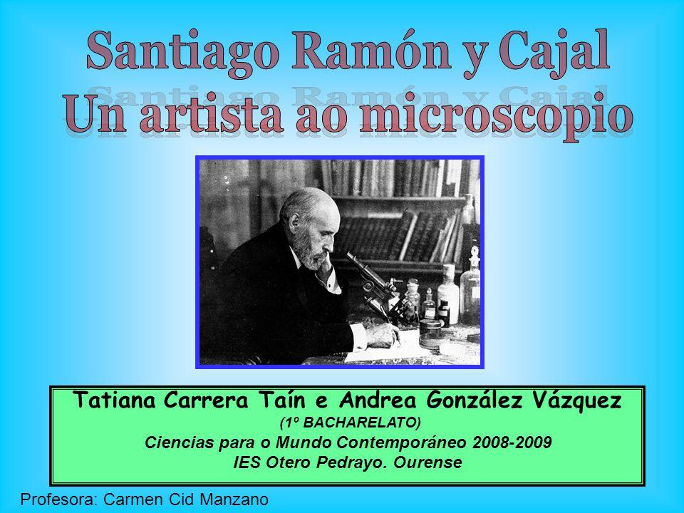 Tatiana Carrera Taín e Andrea González Vázquez (1º BACHARELATO) Ciencias para o Mundo Contemporáneo 2008-2009 IES Otero Pedrayo. Ourense Profesora: Ca