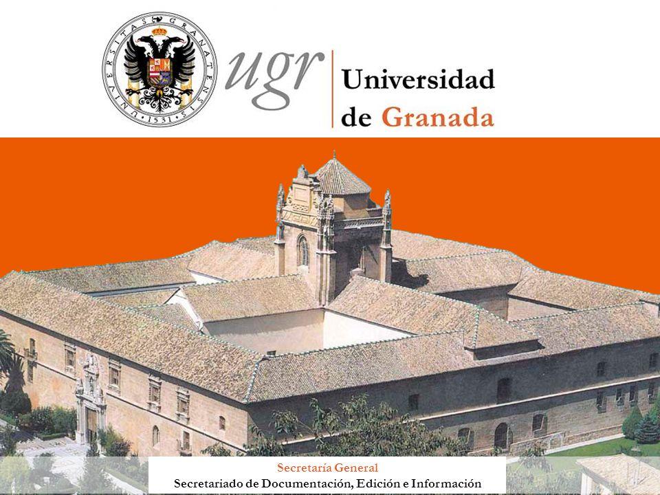 Secretaría General Secretariado de Documentación, Edición e Información