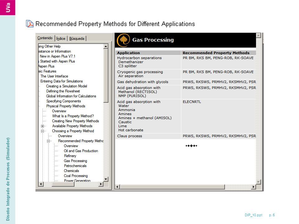 DIP_10.ppt p. 5 Diseño Integrado de Procesos (Simulador)