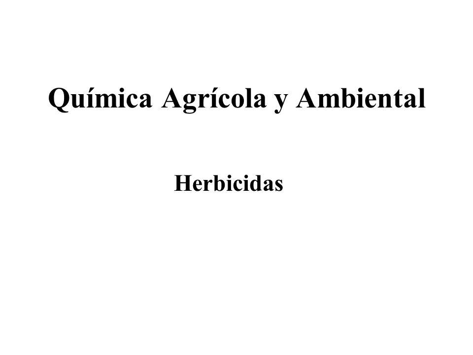 TotalesSelectivos Por su acción sobre las plantas Herbicidas: Clasificación PresiembraPreemergenciaPostemergencia Por el momento de aplicación De contacto ResidualesSistémicos Por su acción sobre malas hierbas