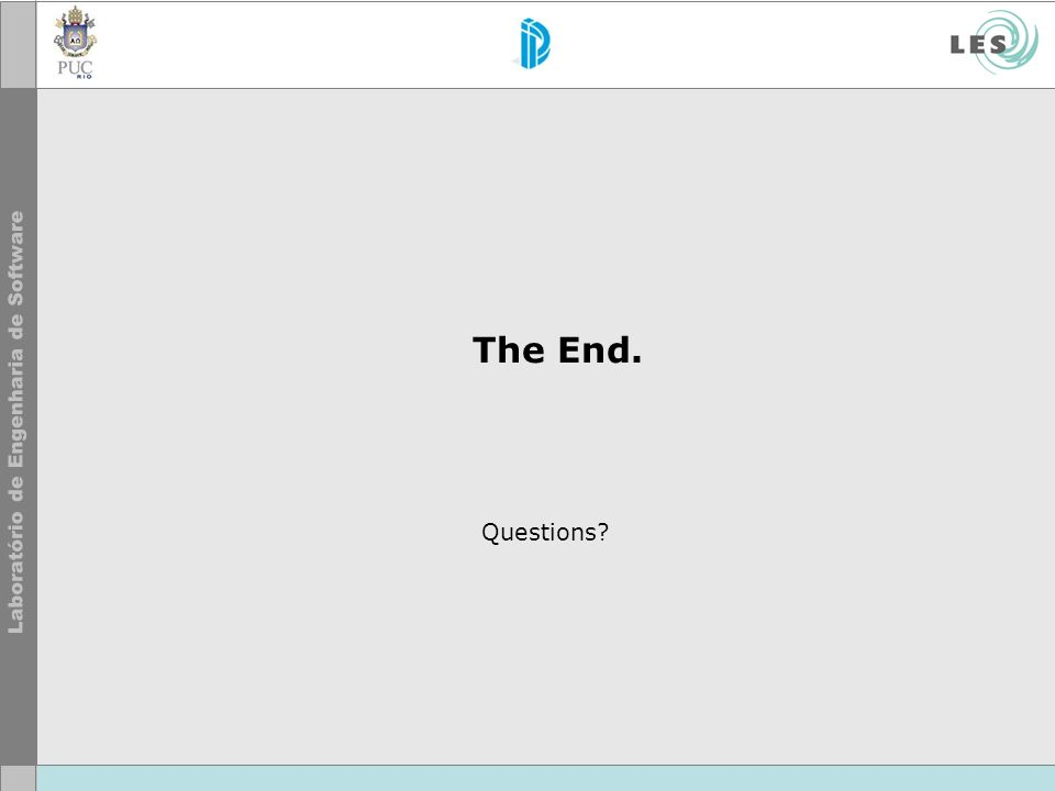 The End. Questions