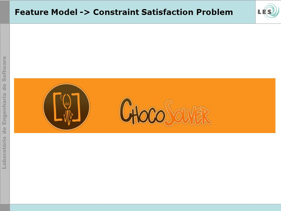 Feature Model -> Constraint Satisfaction Problem