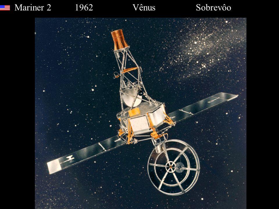 Mariner 2 1962 Vênus Sobrevôo