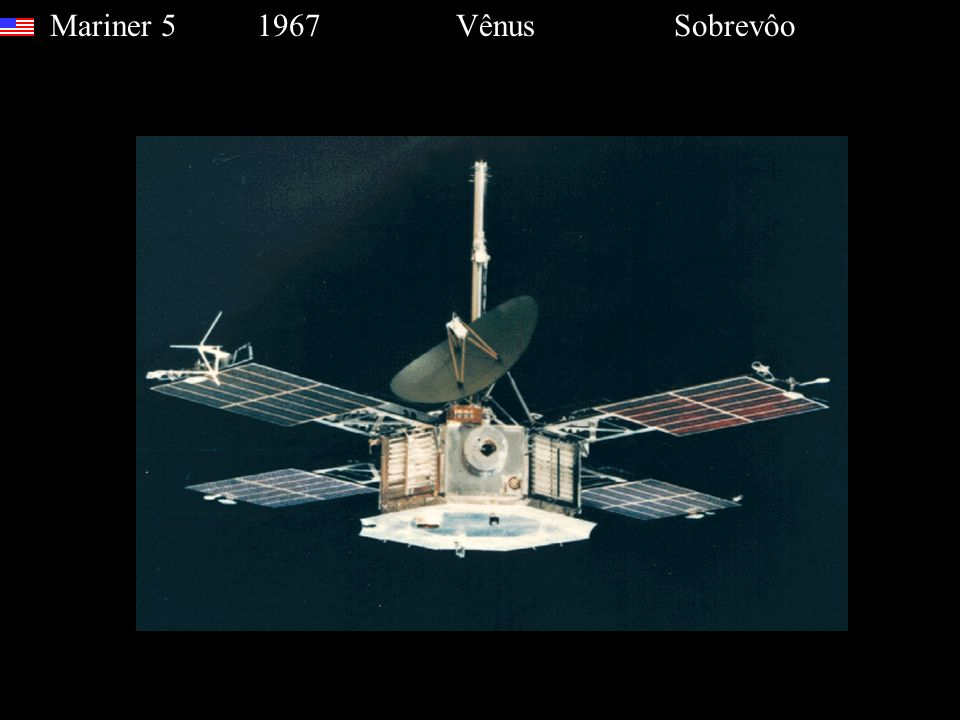 Mariner 5 1967 Vênus Sobrevôo