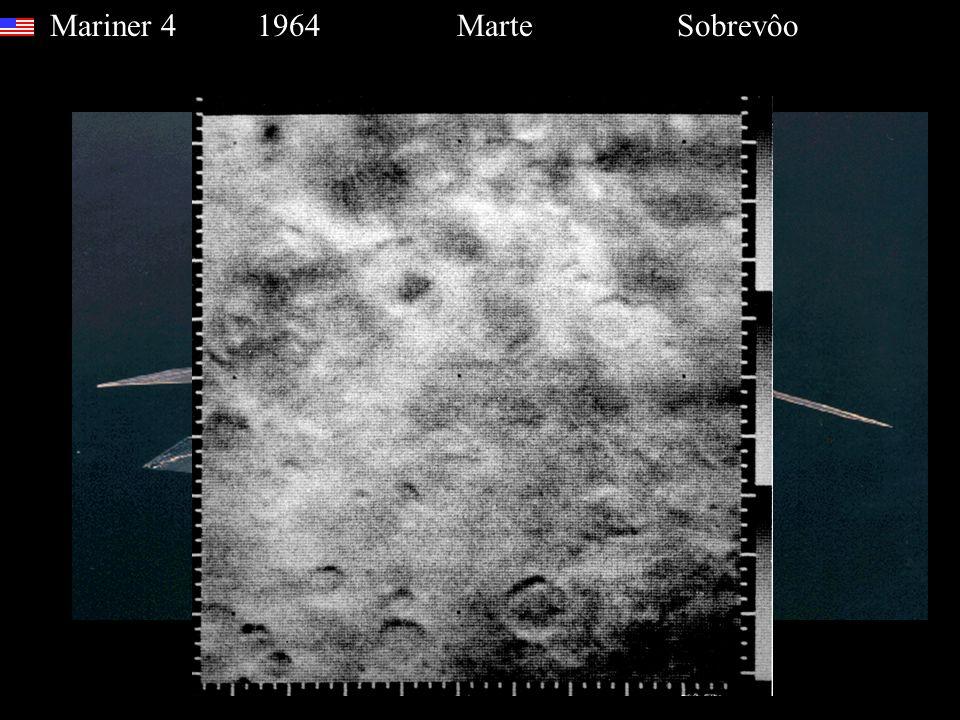 Mariner 4 1964 Marte Sobrevôo