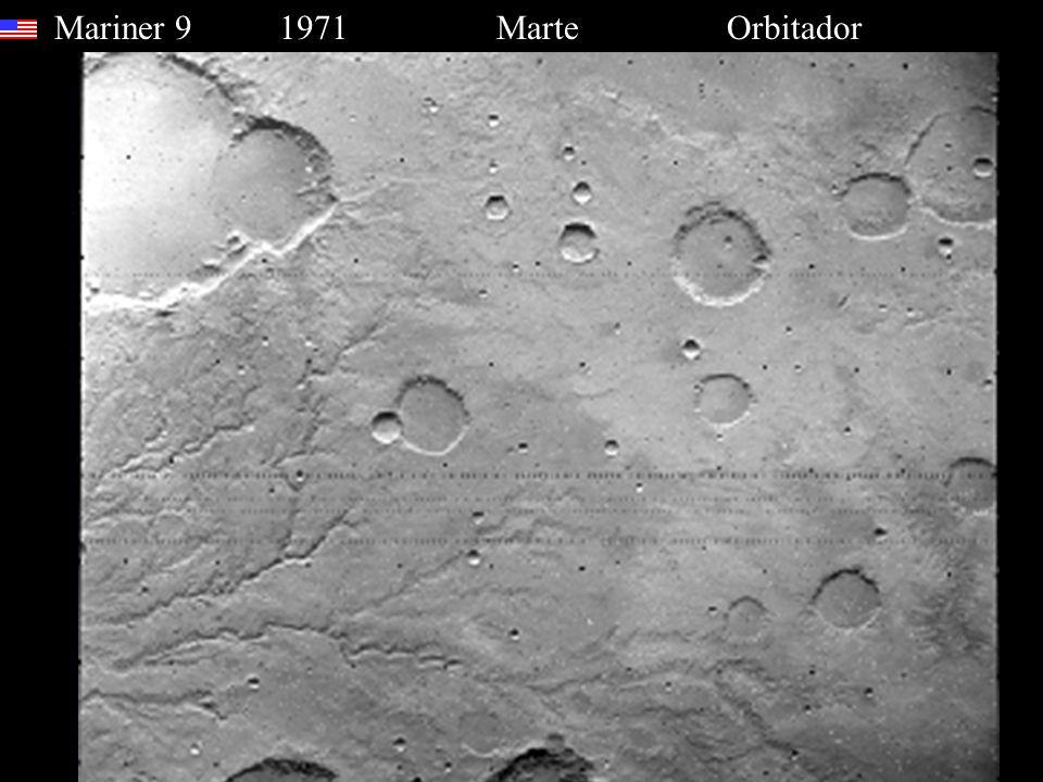 Mariner 9 1971 Marte Orbitador