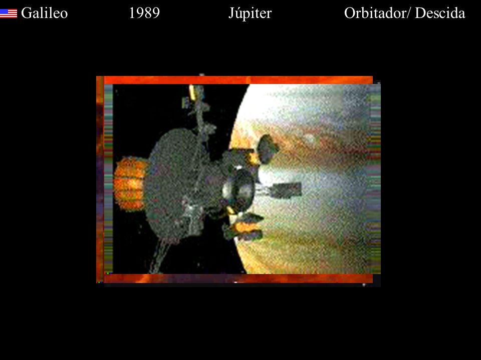 Galileo 1989 Júpiter Orbitador/ Descida