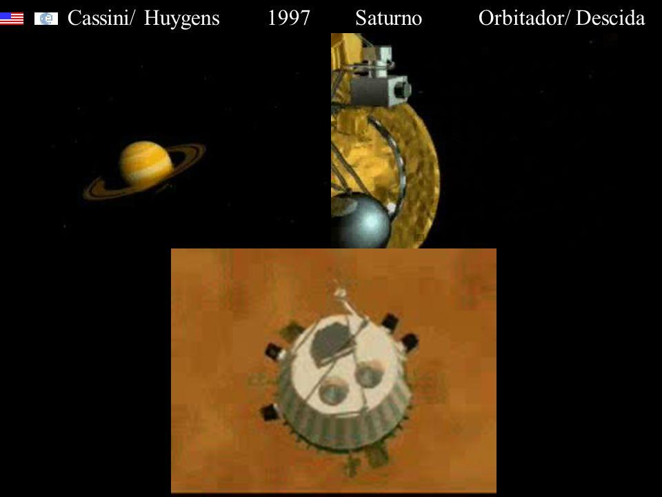 Cassini/ Huygens 1997 Saturno Orbitador/ Descida