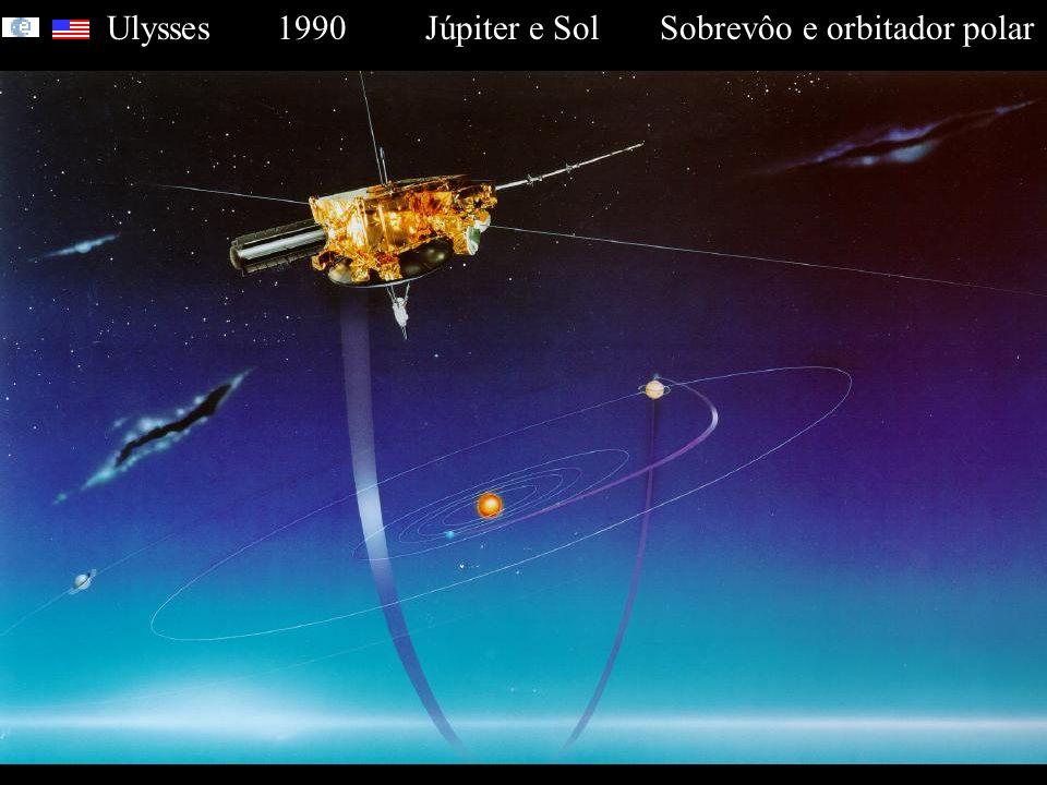 Ulysses 1990 Júpiter e Sol Sobrevôo e orbitador polar